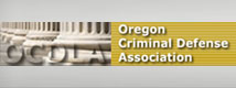 Oregon Criminal Defence Association