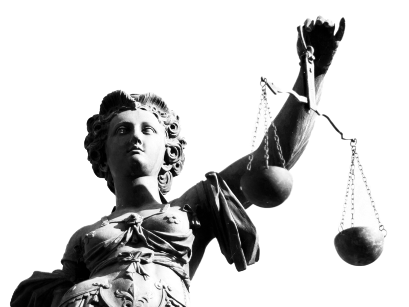 Scales of Justice legal statue